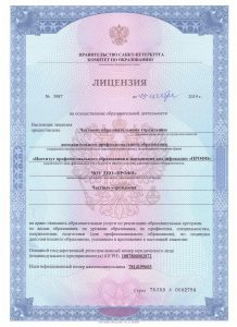 Лицензия 2019